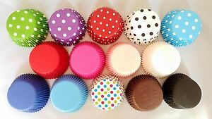 High Quality Cupcake Cases Standard Size Polkadot Striped MEGA LISTING!!!