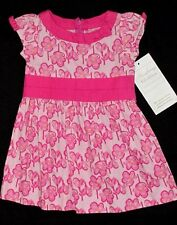 NWT Boutique Strasburg POPPY FLORAL 6 12 M Mo Dress Pink Yellow Baby Girl Bow