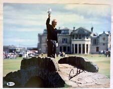Arnold Palmer signed autograph 11x14 St Andrews British Open photo Beckett BAS