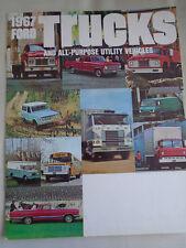 Ford USA Trucks & All Purpose Utility Vehicles brochure 1967