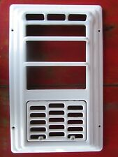 Vintage Front Cover  Art Deco White Porcelain Gas Wall Heater Cover Only