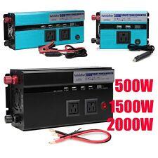 500W-10000W Car Solar Power Inverter DC12/24V To AC110V/220V Sine Wave Convert