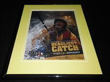 Deadliest Catch 2010 11x14 Framed ORIGINAL Vintage Advertisement Discovery