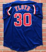 Cliff Floyd autographed signed jersey MLB Montreal Expos JSA w/ COA World Series