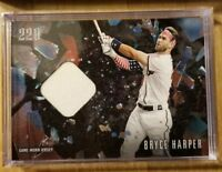IN HAND! 2018 Topps Now X Bryce Harper 220 Second to None Game Used Jersey Relic