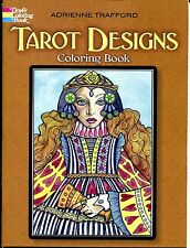 Tarot Designs Coloring Book (Paperback, New) Dover Adult