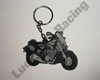 Yamaha V-Max 09-10 rubber key ring motor bike cycle gift keyring chain