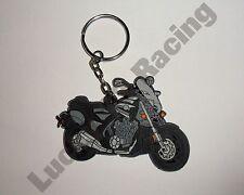 Yamaha V-Max 09-10 rubber key ring motor bike cycle gift keyring chain