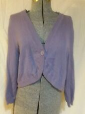 New Additions Maternity Sweater large l purple long sleeves