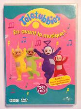 DVD DESSIN ANIME / TELETUBBIES EN AVANT LA MUSIQUE / UNIVERSAL