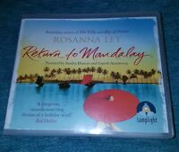 ROSANNA LEY.RETURN TO MANDALAY.AUDIO BOOK CD.