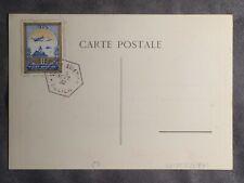 9/4/1932 STAMPED FRANCE 1932 VICHY AIR SHOW/MEETING SOUVENIR POSTCARD 9/4/1932