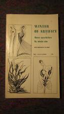 Winter of Artifice by Anais Nin Ill. by Ian Hugo (husband) 1961 1st Ed. Swallow