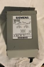 SIEMENS 1BB1224Q BUCK BOOST TRANSFORMER TYPE: QB 1 KVA 60HZ 1PH 120/240 12/24 v