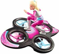 Barbie Star Light Adventure RC Doll Flying IR Drone Ages 8+ Toy Plane Fly Play