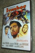 Ivanhoe (DVD, 2005), NEW AND SEALED, REGION 1,FULL SCREEN. ELIZABETH TAYLOR,RARE