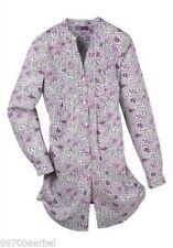 Geblümte taillenlange Damenblusen, - Tops & -Shirts in Größe 44