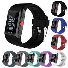 for Polar V800 Gps Sports Watch StrapsCo Silicone Rubber Replacement Band Strap