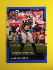 2017 Donruss Alec Ogletree Los Angeles Rams BLUE PRESS PROOF card #224