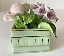 Royal Adderly Bone China Flowers In A Basket