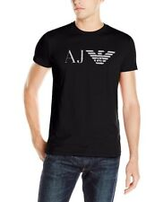 ARMANI Jeans Mens Round Neck T Shirts 8n6t996jpfz M 58174932 Black
