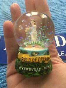 Field of Dreams Dyersville IA Baseball Keepsake Snow Globe & Sticker