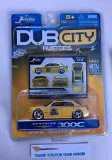 Chrysler 300C * Yellow * DUB CITY Kustoms * Jada * H60