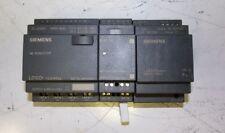 3 pc Siemens LOGO! 6ED1 052-2MD00-0BA5 12/24RCo DM8 24 Power Supply Relay