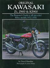1972 73 74 75 76 KAWASAKI Z1 900 RESTORER'S  GUIDE-COVERS Z1 Z1A Z1B Z900 KZ900