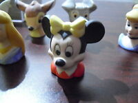 1988 Miniature Porcelain Disney Minnie Mouse Head Figurine