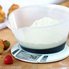 Soehnle Olympia Plus 5Kg Kitchen Scales 1 Gram Increments BONUS 2.2L Mixing Bowl