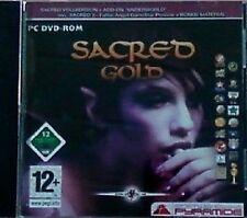 Sacred Gold-PC DVD-ROM-NUOVO & Subito