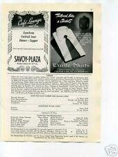 Cafe Lounge Cocktail Bar 1940's Original Ad