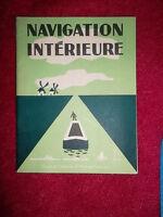 NAVIGATION INTERIEUR  fleuves ete canaux dessins illustrations