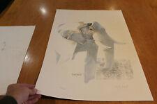 4x Original Prints Watercolour Painting  signed by Keith Lambert