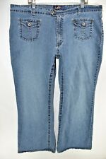 Angels Jeans Flare Boot Cut Bootcut Womens Stretch Size 26 Meas 42x32 Stretch