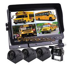 """9"""" Monitor Vehicle CCTV Waterproof Night Vision Rear View Backup Camera System"""