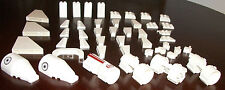 LEGO 30249 (3) 93168 (4) 89762 (2) 2449 (9) 6091 Star Wars Parts & Pieces White
