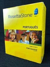 Rosetta Stone Portuguese Language Learning Software Cd-Rom Level 1 2 3 Version 3