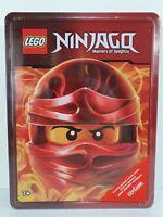 Lego Ninjago Tin Of Books & Vermillion Warrior Minifigure New Sealed Gift