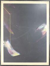 G3-028. TWO GESTURES. MIXED TECHNIQUE. ABSTRACT. JOSE ALVAREZ NIEBLA. 70'S.