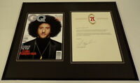 Colin Kaepernick Signed Framed 16x20 Letter & Photo Display 49ers