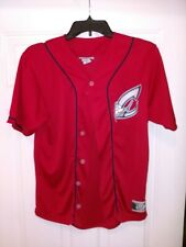 Minor League Baseball Columbus Clippers Fan Jersey Youth Large Red