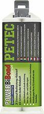 PETEC 98550, colla riparazione plastica 50 ML Bianco/Giallo Cartuccia