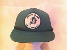 Robert Globe Elec. & Mech. Ltd. Baseball Cap Green Hat Mesh Trucker Electrical