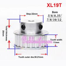 1 10 Xl19t Timing Belt Pulley Gear Wheel Sprocket Bore 6 15mm Tooth 11mm Mz63 Ql
