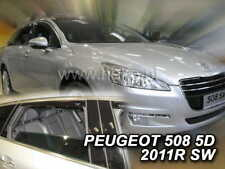 PEUGEOT 508 ESTATE / WAGON  2011 - 2018  Wind deflectors  4.pc HEKO 26144