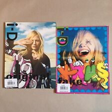 i-D Magazine x Kaws July 2008 The Stepping Stone Issue set of 2