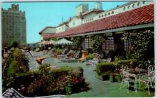 "SAN ANTONIO, Texas TX  ""Sun Garden Roof""  THE ST. ANTHONY Hotel   Postcard"