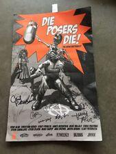 Die Posers Die! Nonconformist Skateboard signed by 9 Jay Adams Tony Alva Dogtown